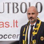 Spalio 5 - 7 d. TFA viešėjo AC Milan technininis direktorius Silvio Broli